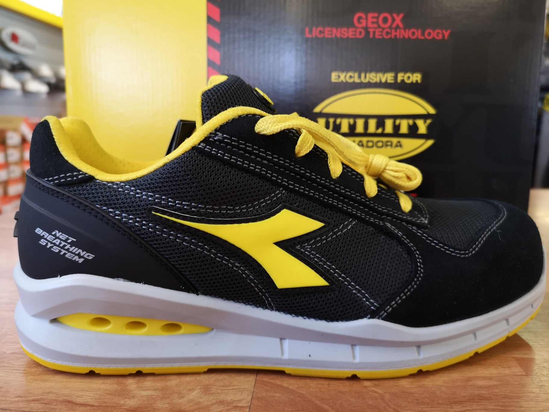 DIADORA RUN NET AIRBOX SCARPA CE ANTINFORTUNI